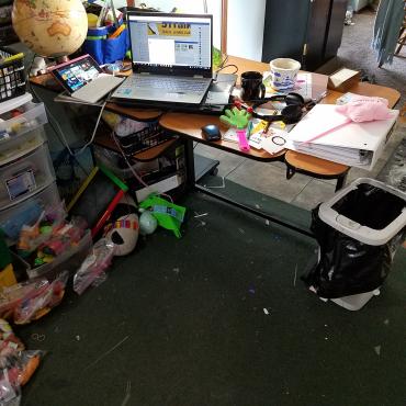 April desk 1